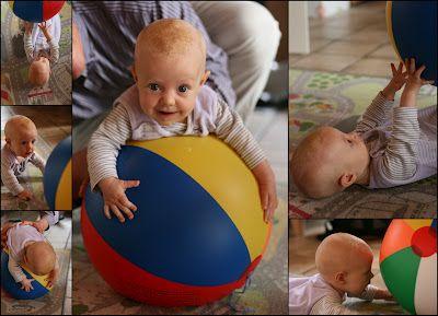 desarrollo cerebral pelota hinchable