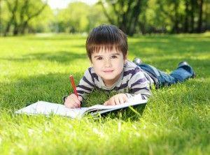 un niño estudioso, puede tener que ver con sus padres