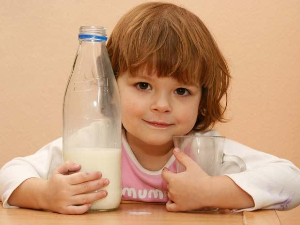 sin leche, por la proteína de la leche de vaca