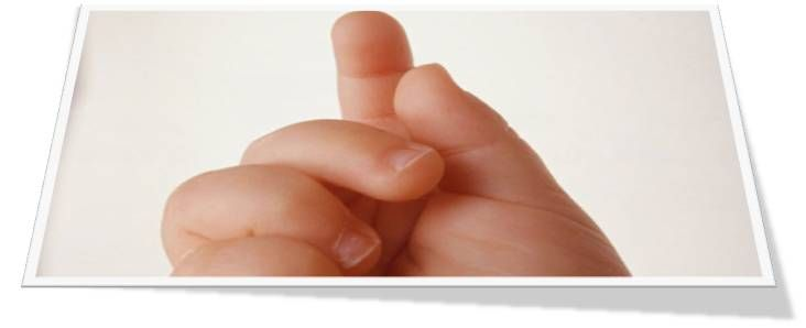 aprender a contar con los dedos