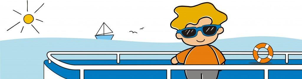 viajar en barco con bebés