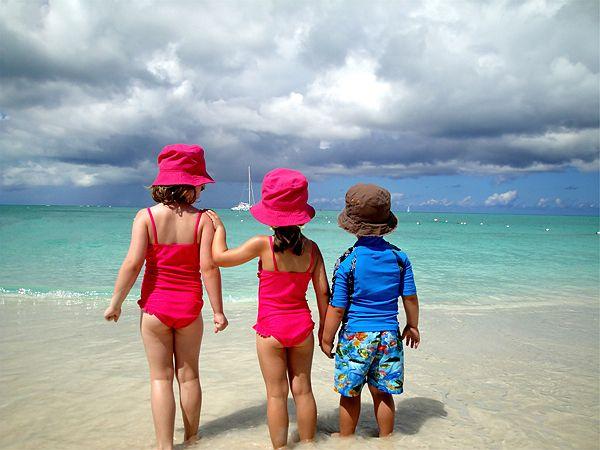 con niños zonas tropicales