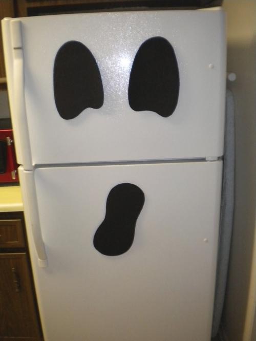 halloween frigorífico