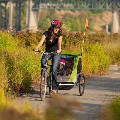 montar en bici con bebe