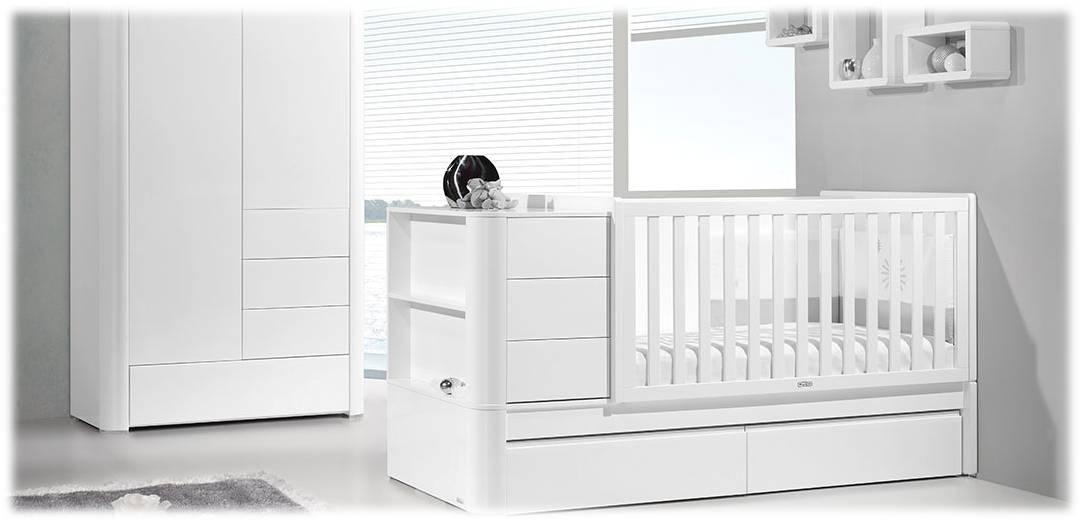 Cuna convertible trama habitaci n infantil convertible - Habitacion convertible bebe ...