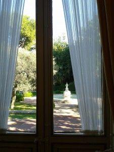 ventana al jardin