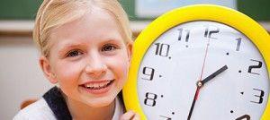 aprender horas actividades