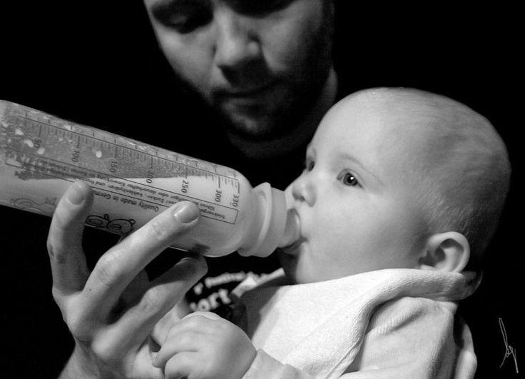 biberon con papa