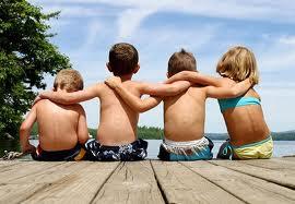 nuestro hijo hace amigos