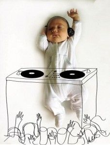 mi niño y la música