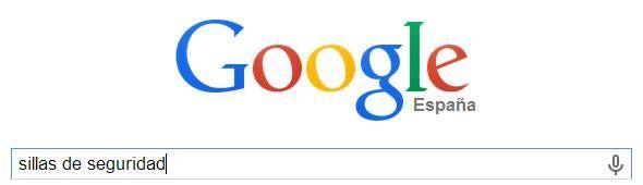 google seguridad infantil en el automovil