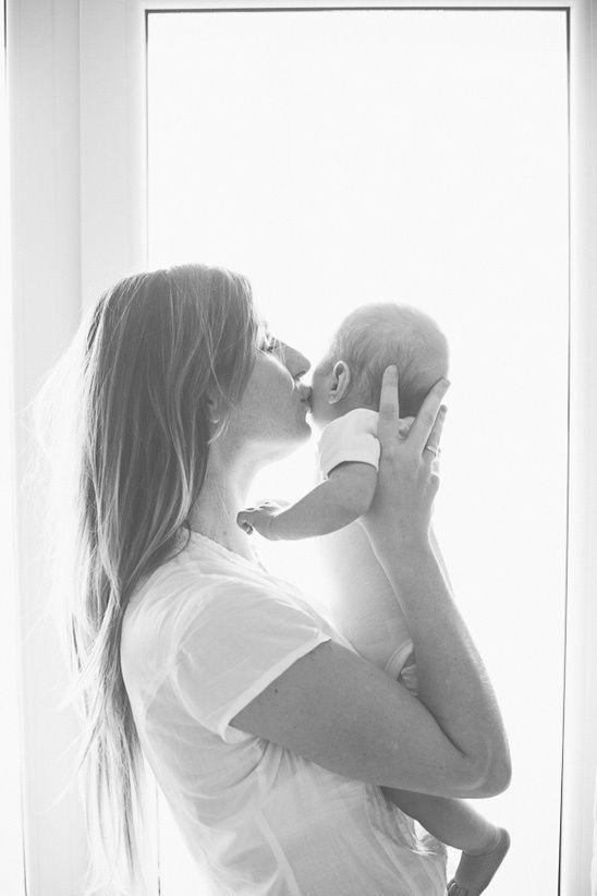una mujer post parto