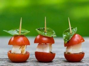 aperitivo con el tomate