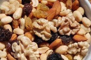 frutos secos durante embarazo