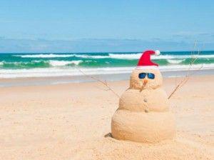 En el invierno podemos ir a la playa