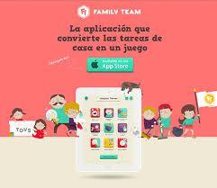 aplicación family team