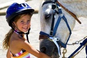 la equitación en los mas pequeños