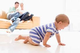indicios de los primeros pasos de los bebés