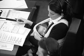 la baja maternal en noruega