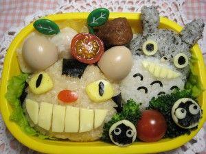 la presentación de los platos en niños