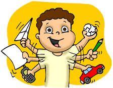 niños super estimulados con actividades