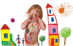 la creatividad en los pequeños