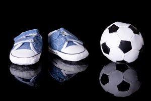 mi hijo juega la fútbol