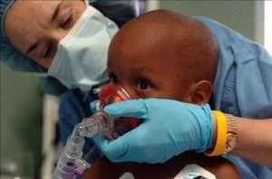 la sedación en bebés