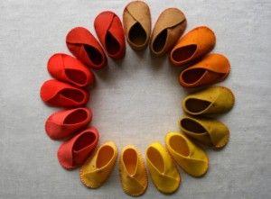 numeración de zapatos