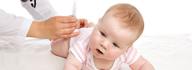 La vacunación en los peques