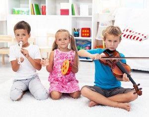 la música y su importancia para los niños