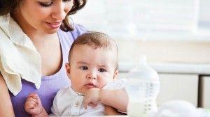 el destete del bebé