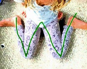 la postura correcta en los niños