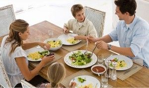 alimentos en la dieta equilibrada familia