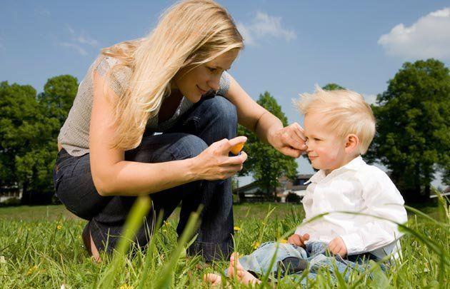botiquín infantil , elementos necesarios