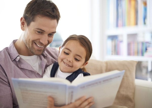 lectura con hijos