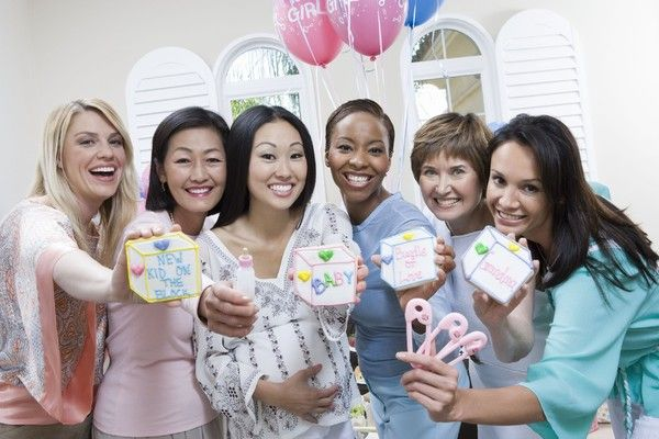 baby shower party con amigas
