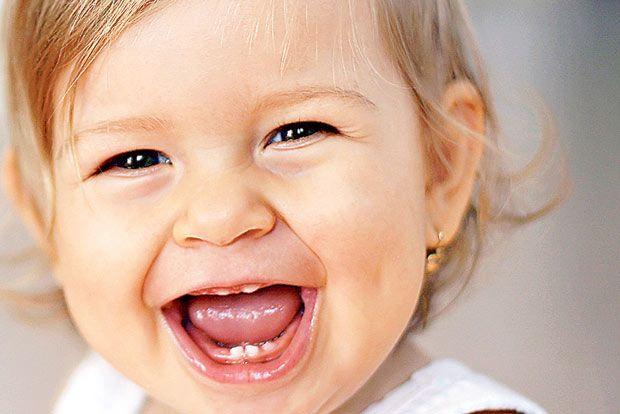los dientes en los bebés