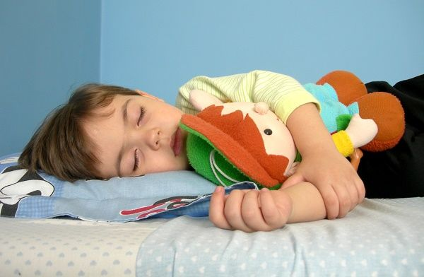 nene durmiendo