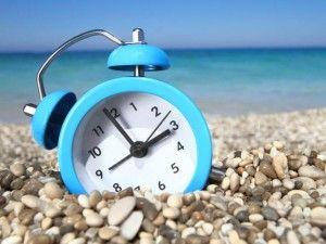 Verano. Cambio de horarios