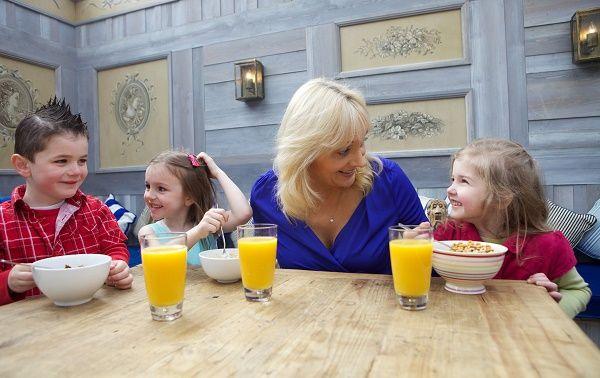 desayuno con mama