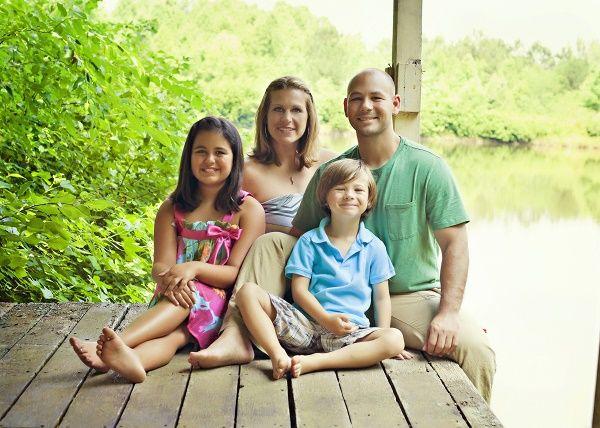 familia verano campo