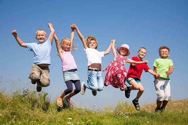 valores nenes felices