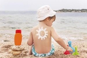 Protectores solares para niños
