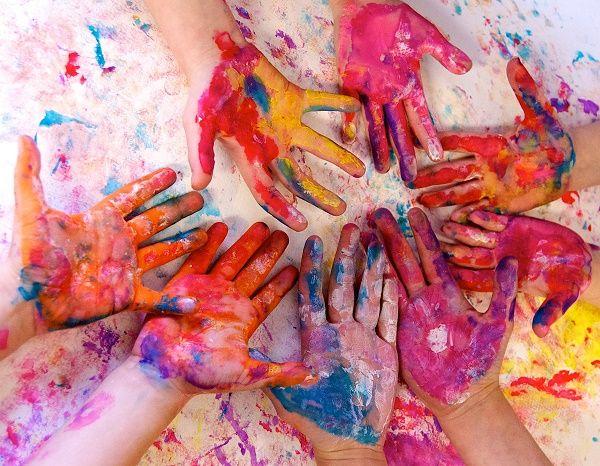 manos creatividad