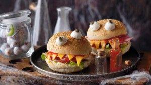 Receta Halloween bocadillos monstruosos