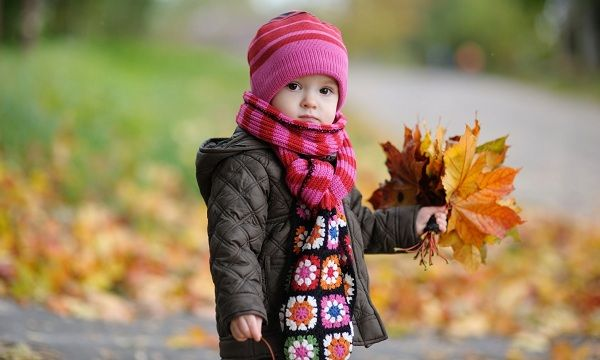abrigar al bebé en invierno
