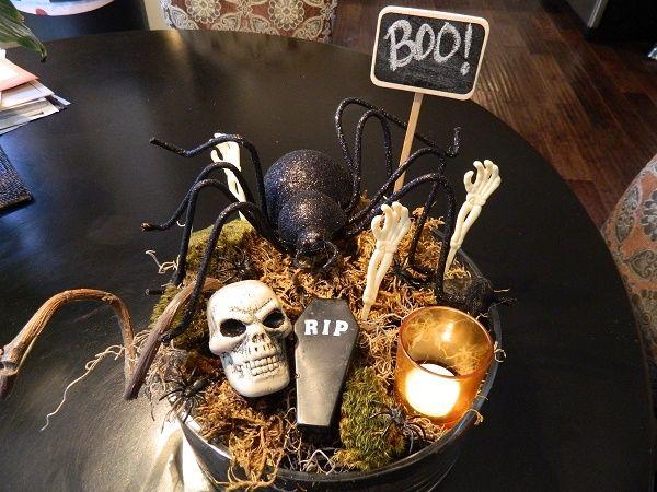 deco halloween mesa