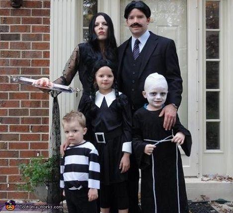 5 Ideas De Disfraces Infantiles De Halloween De Peli De - Disfraces-familia-adams