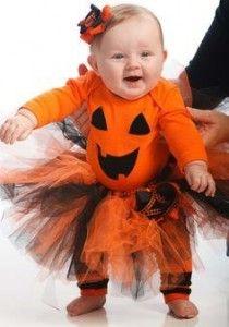 Disfraz infantil Halloween calabaza